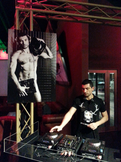 Il Dj Set ha animato la serata